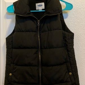 Old Navy Black Vest